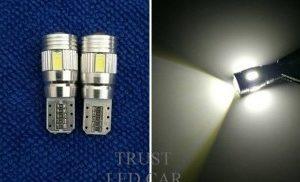LED T 10 - 6 SMD LED Project